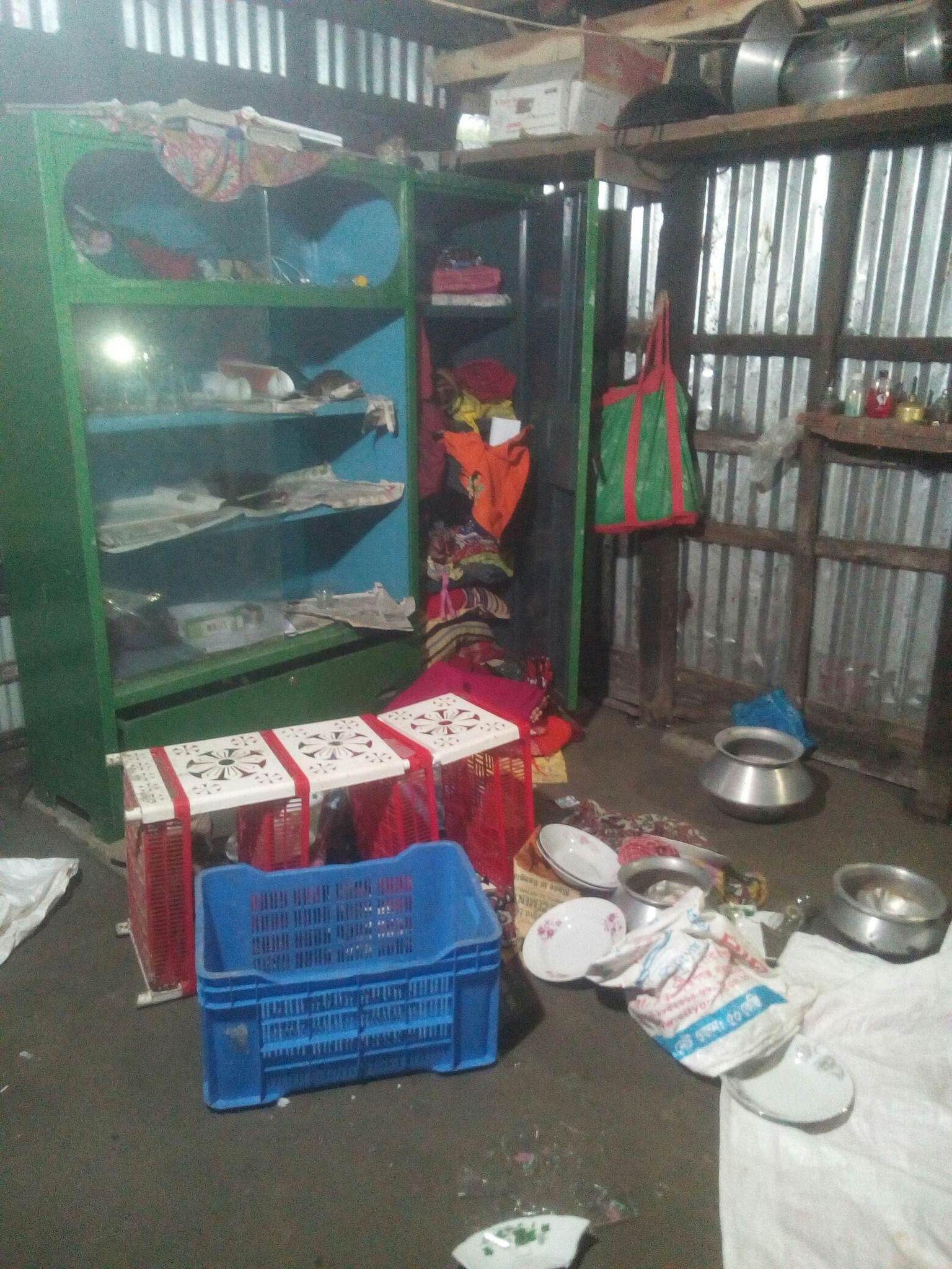 বাকেরগঞ্জ বোতরা বাজার সংলগ্ন দুর্ধর্ষ ডাকাতি