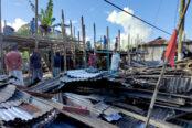 ভ্রাম্যমান আদালতের অভিযানে কলাপাড়ার নীলগঞ্জে অবৈধ স্থাপনা উচ্ছেদ