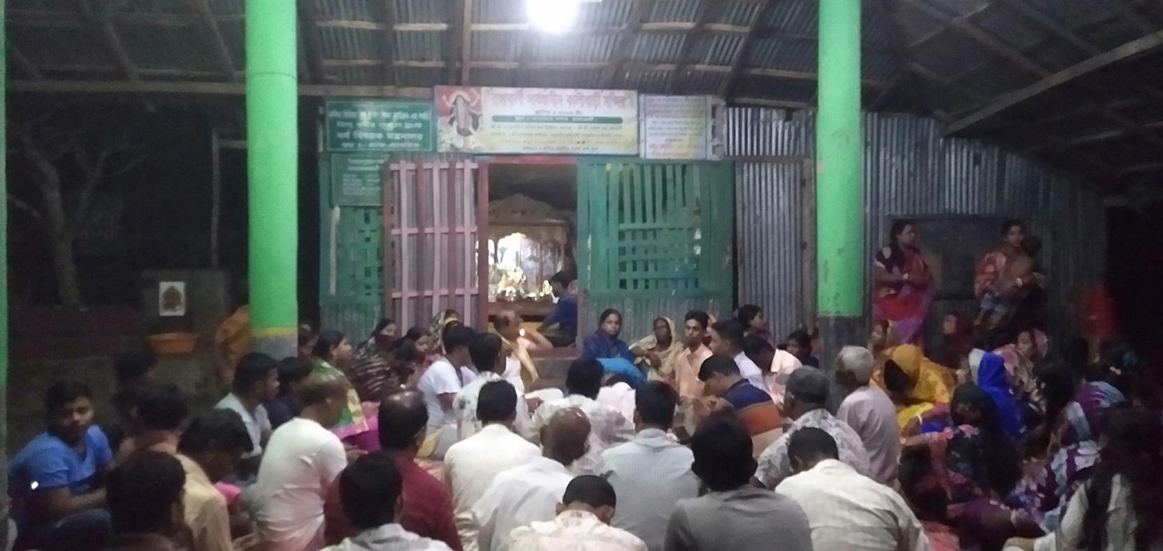 রাঙ্গাবালীতে শ্রী কৃষ্ণের জন্মদিন পালিত